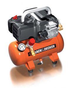 black decker kompressor mit 6 liter tank lfrei ihp. Black Bedroom Furniture Sets. Home Design Ideas