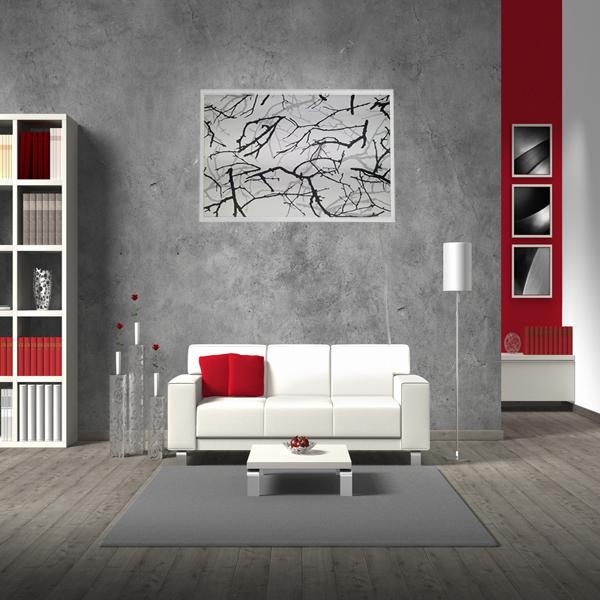 mauk infrarot wandheizung kunstvolles ge st 600 w ihp. Black Bedroom Furniture Sets. Home Design Ideas