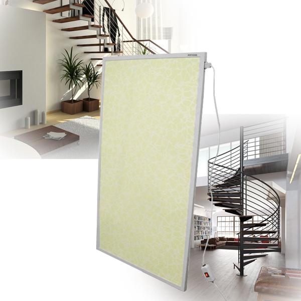 mauk infrarot wandheizung marmor wei 600 w b ware ihp. Black Bedroom Furniture Sets. Home Design Ideas