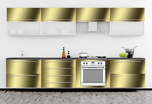 Küchen Folie mauk folie auto küchen folie gold hochglanz spiegelfolie ihp