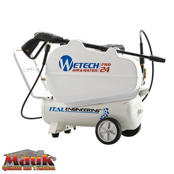 Kompressor und Hochdruckreiniger 2in1 24 Liter