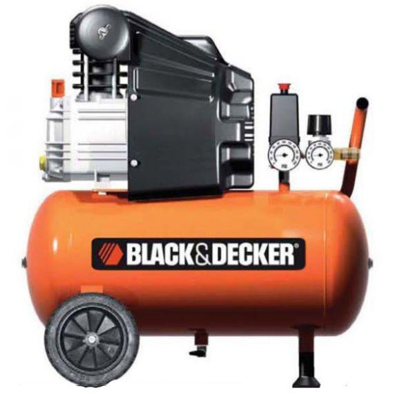 Black und Decker Kompressor mit 24 Liter Tank - BD205/24