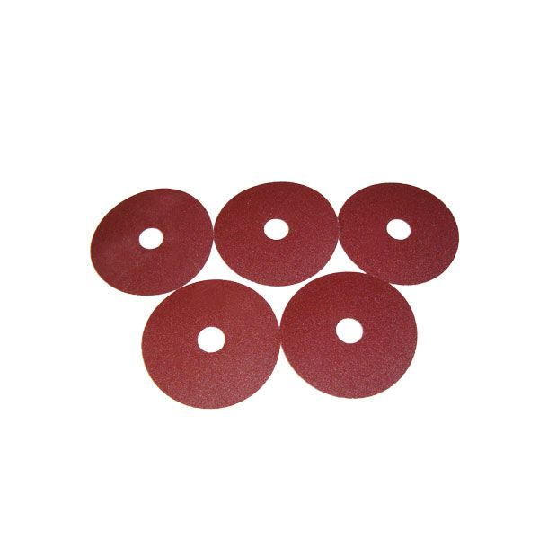 5x Schleifscheibe (K 80) für Mauk DL Tellerschleifer