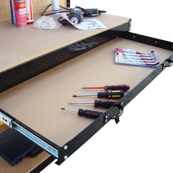 Werkbank Holz 160cm. Werktisch Arbeitstisch ...